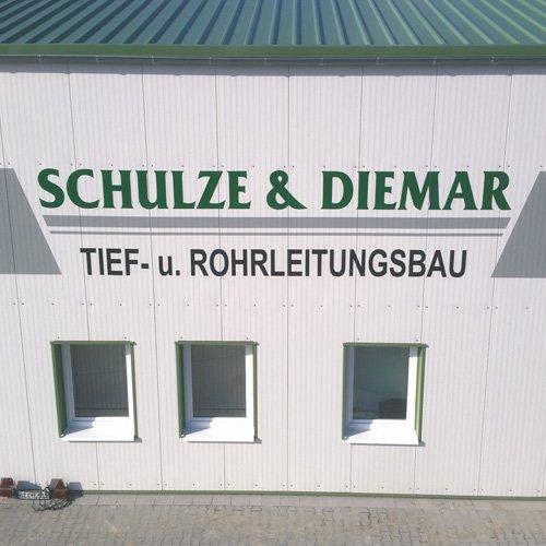 Beschilderung Schulze Diemar