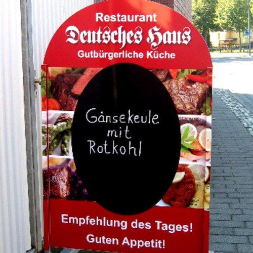 Aufsteller Restaurant