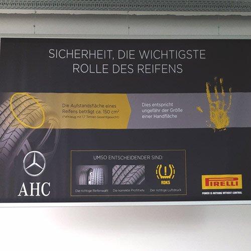 Banner AHC Autohaus Cottbus