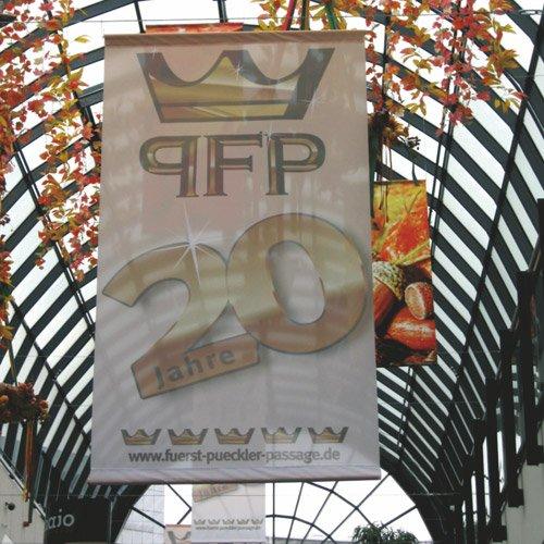 Banner Fürst Pückler Passage