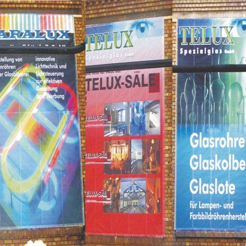 Banner Telux Spezialglas