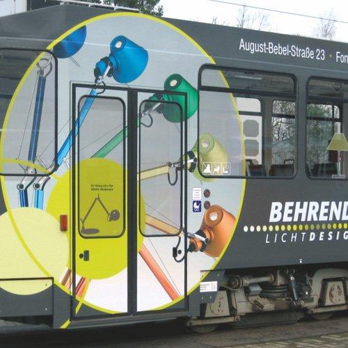 Behrendt Lichtdesign Straßenbahn