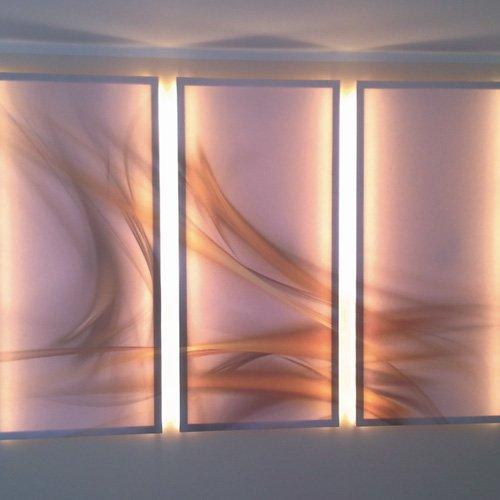 Beschilderung Lichtinstallation