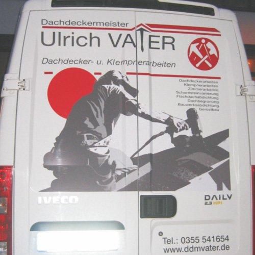 Dachdeckermeister Ulrich Vater