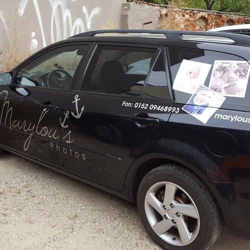 Fahrzeugbeschriftung Marylou's Photos