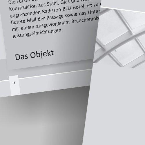 Fürst-Pückler Passage Fensterbild