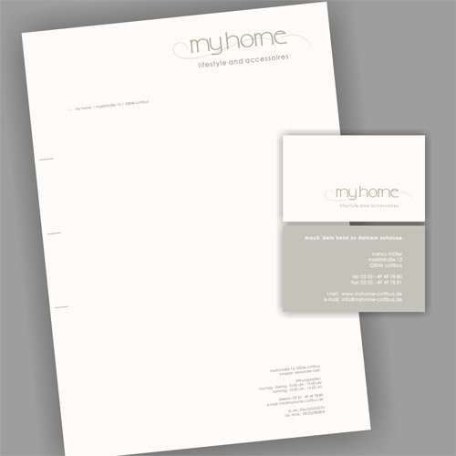 Grafikdesign myhome