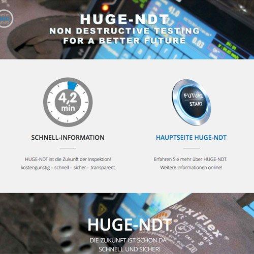 Huge-NDT Website