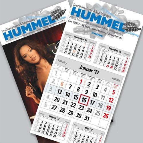 Kalender Hummel Druckluft