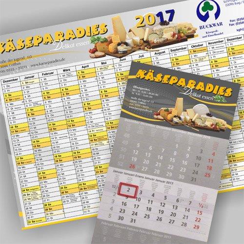 Kalender Käseparadies