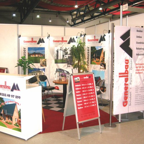 Messestand Generalbau