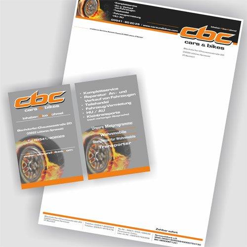 Printprodukte cbc cars bikes