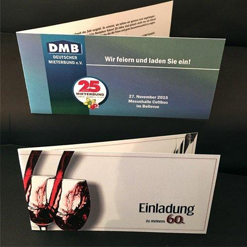 Printprodukte Einladungskarten
