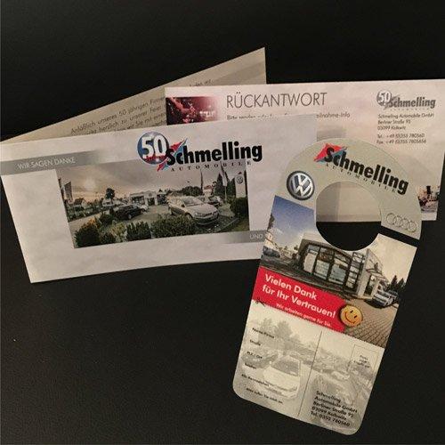 Printprodukte Schmelling Automobile
