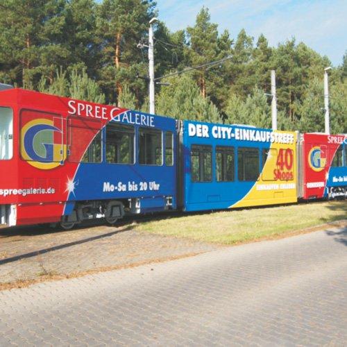 Starßenbahn Spree Galerie Cottbus