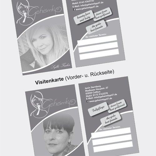 Visitenkarte Geheimtipp