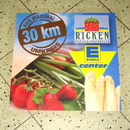 Werbeartikel Ricken Spreewaldbauer